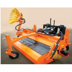 Hydraulische Kehrmaschine...